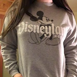 Disney Sweaters - Disneyland crew neck cut